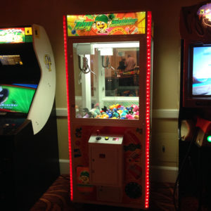 Soldier Crane Arcade Game